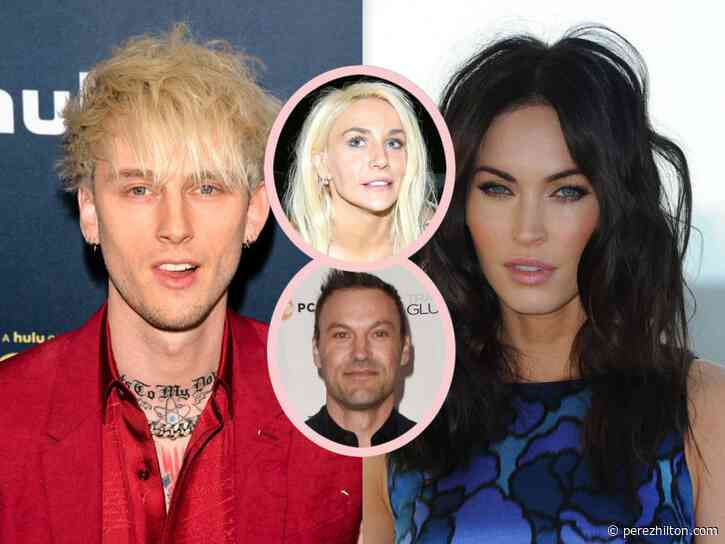 Megan Fox Is 'Very Happy' With Machine Gun Kelly — But Just How Serious Are They?