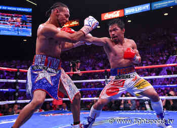 Keith Thurman Continues To Push For A Rematch Against Manny Pacquiao - FIGHT SPORTS