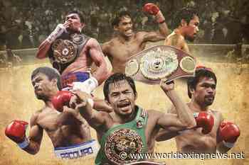 Manny Pacquiao – Boxing's Five-Weight Lineal Octuple Champion - WBN - World Boxing News