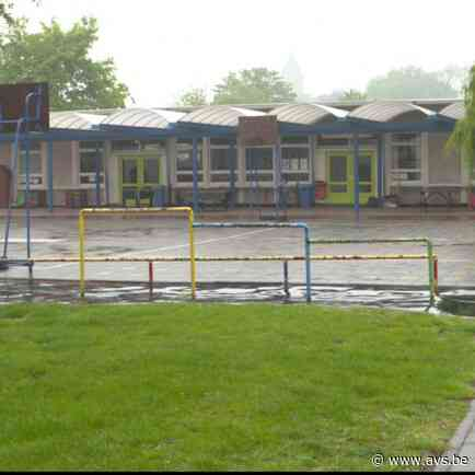 Coronabesmetting in Evergemse school