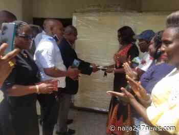 Megaband 97.3 FM, Owerri Donates Haching Equipment to Imo State Government - Naija247news