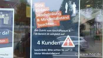 Ist das Tragen von Masken in den Wittlager Bankfilialen erlaubt? - noz.de - Neue Osnabrücker Zeitung