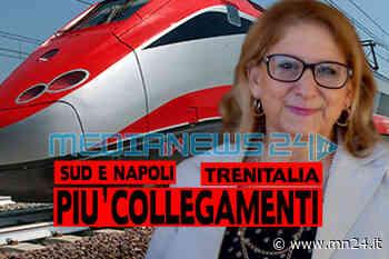 Nocera Inferiore - L'On.Villani scrive a Ferrovie dello Stato, piu' collegamenti verso sud e Napoli - Ansa