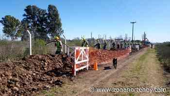 EDEN lleva adelante importantes obras en Los Cardales - zonanortehoy.com