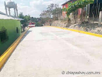 Fortalece SOP infraestructura vial en Acala - ChiapasHoy