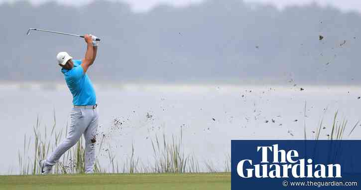 Brooks Koepka rails at TV crew as Ian Poulter makes fast start