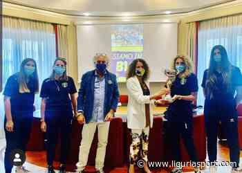 L'assessore Cavo premia la PSA Olympia Voltri - Liguriasport