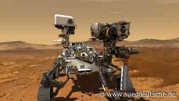 Neuer Nasa-Rover startet im Juli zum Mars - Süddeutsche Zeitung