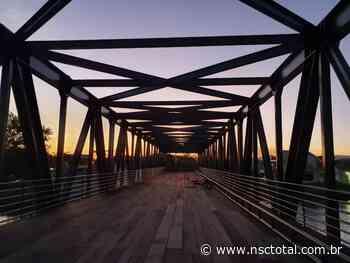 Ponte Bulcão Viana, em Tijucas, é reinaugurada após seis anos | NSC Total - NSC Total