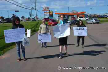 P.E.I. residents take part in anti-racism protest June 9 in Summerside - The Guardian
