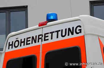 Medizinischer Notfall im Dachstuhlbereich: Höhenretter bergen Bauarbeiter in Würzburg
