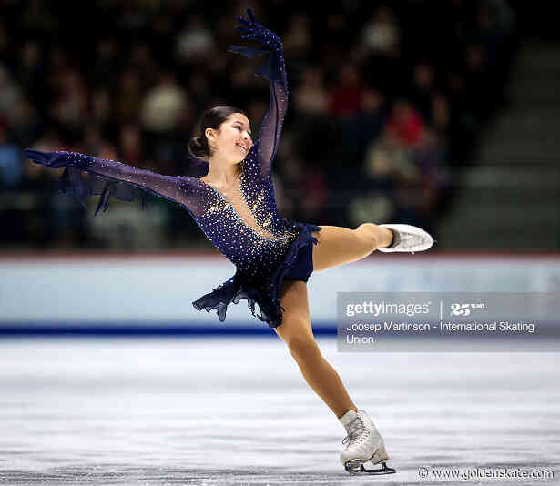 Repetition is key for USA's Alysa Liu