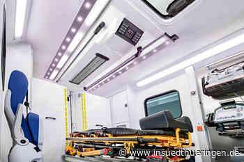 BINZ aus Ilmenau desinfiziert Krankenwagen mit LED-Licht - inSüdthüringen.de