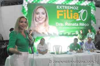 Renata Rêgo lidera corrida pela Prefeitura de Extremoz, mostra Exatus/Agora RN/97 FM - Ceará-Mirim Notícias