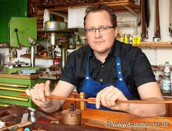 Matthias Penzel bringt mit seinen Bögen Streichinstrumente zum Klingen | SÜDKURIER Online - SÜDKURIER Online