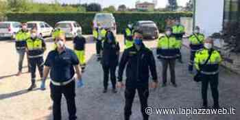 Il comandante della Polizia Locale Corradin alla guida della Protezione Civile comunale - La Piazza