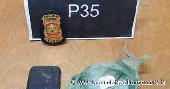 Homem é preso em flagrante por tráfico de drogas em Sobradinho II - Correio Braziliense