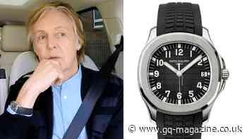 Paul McCartney's Patek Philippe Aquanaut is as low-key as luxury gets - British GQ