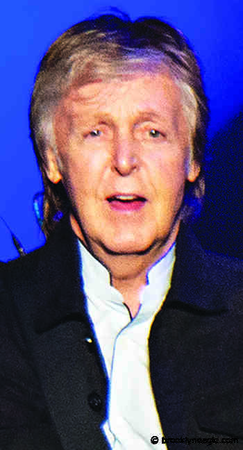 MILESTONES: June 18 birthdays for Paul McCartney, Lou Brock, Alana de la Garza - Brooklyn Daily Eagle