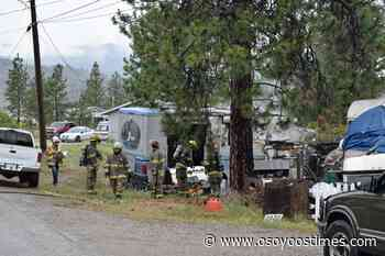 Fire guts RV, displaces two on OIB - Osoyoos Times - Osoyoos Times