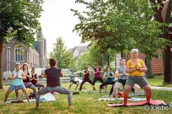 Staden trakteert inwoners op gratis yogasessies - Samenleving - KW - Krant van Westvlaanderen