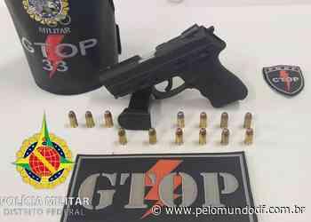 PMDF prende apreende arma em Sobradinho - Pelo Mundo DF