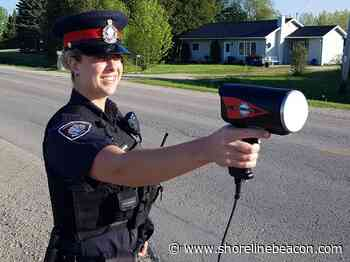 Sixty-four speeders nabbed on Saugeen Shores streets - Shoreline Beacon