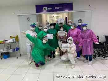 JARU: Mais uma pessoa é curada da Covid-19 e ganha homenagem em sua alta - Rondoniaovivo
