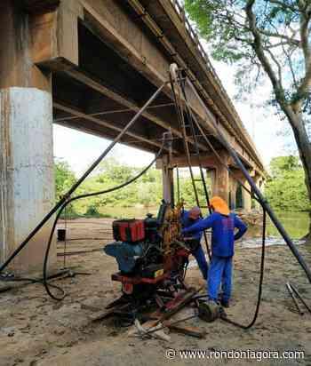 Empresa inicia estudos para projeto da nova ponte sobre rio Jaru, anuncia Mosquini - Jornal Rondoniagora