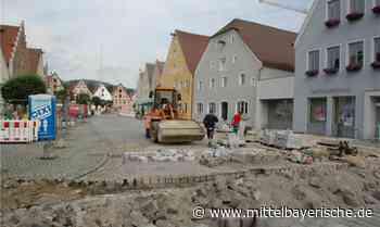 Berching erhält neues Pflaster - Region Neumarkt - Nachrichten - Mittelbayerische