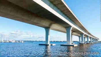 Las autoridades aclaran que un puente de Florida no está en riesgo de colapso después de que apareció una gran grieta - CNN