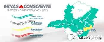 Governo de Minas determina que Itabirito, Lafaiete e Ouro Preto retornem à fase mais rígida de abertura do comércio e serviços - Mais Minas