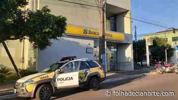 Alarme dispara por engano no Banco do Brasil de Cruzeiro do Oeste - Folha De Cianorte