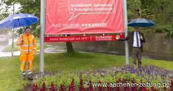 Sichtbares Zeichen der Städtepartnerschaft: Eschweiler hängt jetzt in Sulzbach-Rosenberg - Aachener Zeitung
