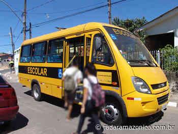 Mesmo com aulas suspensas, prefeito de Manacapuru renova contrato milionário de transporte escolar - radar amazonico