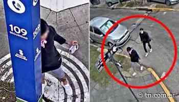 Villa Martelli: abusó de una chica en la calle, lo siguieron con las cámaras y terminó preso - TN - Todo Noticias