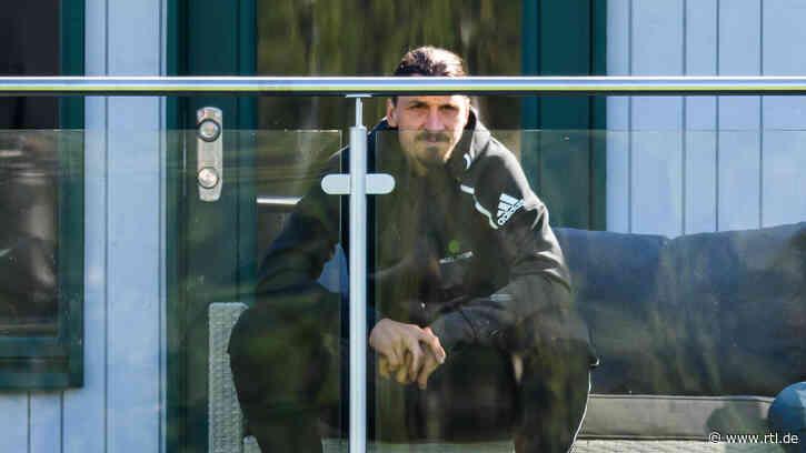 Zlatan Ibrahimovic: Kabinenbesuch wird zum Problem - RTL Online