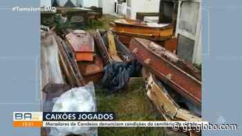 Vídeo: moradores de Candeias, na Bahia, denunciam caixões a céu aberto, espalhados em cemitério; prefeitura justifica - G1