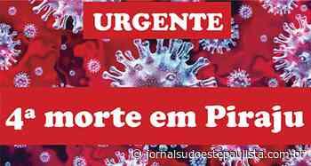 Morre a quarta vítima de covid-19 em Piraju - Jornal Sudoeste Paulista