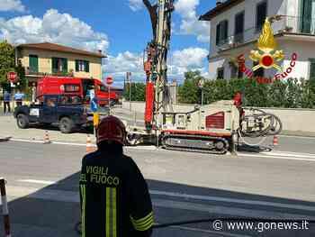 Fuga di gas a Impruneta: intervengono i vigili del fuoco - gonews