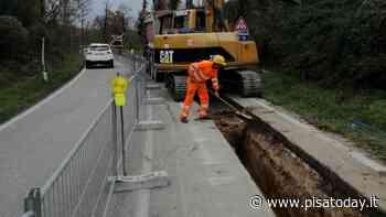 Bientina-Calcinaia: chiusi due importanti lavori sull'acquedotto in via Valdinievole Sud - PisaToday