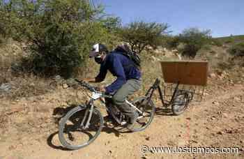 Wilfredo Negrete, el profesor que recorre Aiquile en bicicleta para enseñar en la cuarentena - Los Tiempos