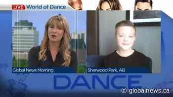 "Warman teen Dayton Paradis on his ""World of Dance"" appearance 