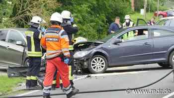 Bodenrode bei Heiligenstadt: Unfall mit mehreren Verletzten - MDR