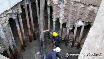 Mandello del Lario: concluso la posa della fognatura nel centro storico - LeccoToday