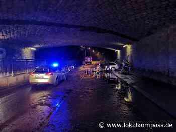 Überflutete Straßen und Keller im Westen der Itterstadt: Unwetter über Hilden - Hilden - Lokalkompass.de