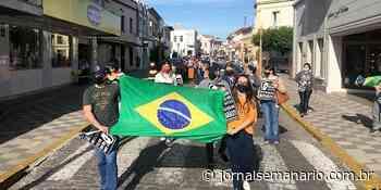 Comerciantes de Garibaldi protestam contra novo decreto do Governo do RS - jornalsemanario.com.br