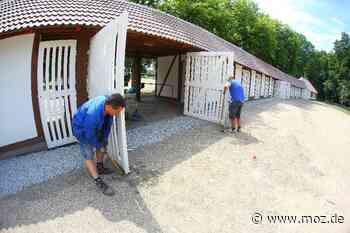 Schwächelndes Wahrzeichen: Hotel und Events sollen Rennbahn Hoppegarten wieder rentabel machen - Märkische Onlinezeitung