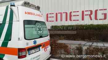 Gamba schiacciata sotto un serbatoio: l'infortunio alle Officine di Carvico - Bergamo News - BergamoNews.it