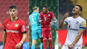 Nur Bayern makellos: Die Bundesliga-Tabelle seit dem Re-Start